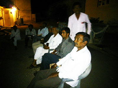 Gram Sabha (Village Meeting) at Village Jithudi Ta. Kukavav-Vadiya Dist. Amreli to Adopt the Village.