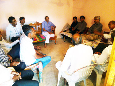 Gram Sabha (Village Meeting) at Village Kolada Ta. Kukavav-Vadiya Dist. Amreli to Adopt the Village.