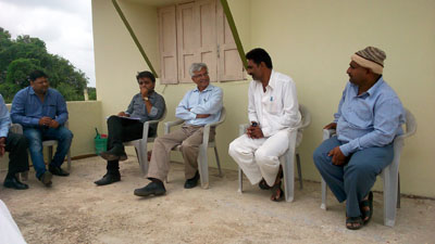 Gram Sabha (Village Meeting) at Village Rampur Ta. Dhari Dist. Amreli to Adopt the Village.
