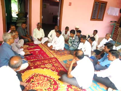 Gram Sabha (Village Meeting) at Village Khandivav Ta. Balasinor Dist. Mahisagar to Adopt the Village.